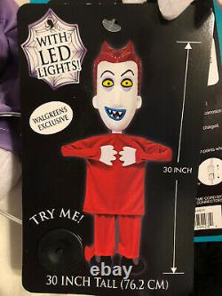 2020 Walgreens Nightmare Before Christmas Hanging Decor Jack Sally Shock Lock