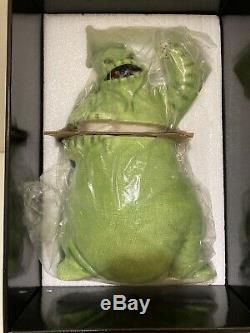BNIB Nightmare Before Christmas OOGIE BOOGIE CERAMIC COOKIE JAR Green Disney EXC