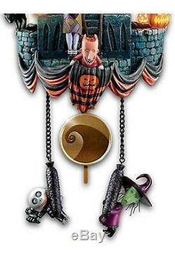 Bradford Exchange Disney The Nightmare Before Christmas Cuckoo Clock