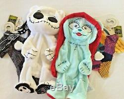 Build a Bear The Nightmare Before Christmas Jack Skellington and Sally Bundle