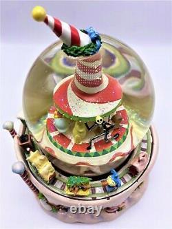 Christmas Town Nightmare Before Christmas Musical Rotating Snow Globe