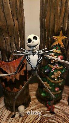 Custom NIGHTMARE BEFORE CHRISTMAS Lamp Jack Skellington Disney Funko Pop Neca