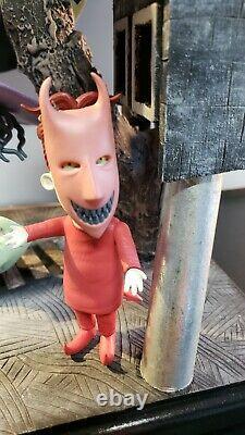 Custom NIGHTMARE BEFORE CHRISTMAS Lamp Lock Shock Barrel Disney Funko Pop Neca