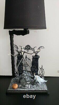 Custom NIGHTMARE BEFORE CHRISTMAS Lamp Neca Jack Skellington Halloween Funko