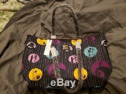 DISNEY DOONEY AND BOURKE NIGHTMARE BEFORE CHRISTMAS TOTE JACK bag purse