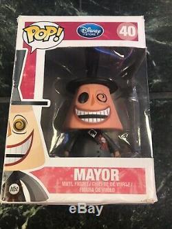 DISNEY FUNKO # 40 Nightmare Before Christmas Pop Mayor VAULTED
