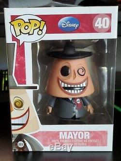 DISNEY FUNKO # 40 nightmare before christmas pop mayor 40 VAULTED