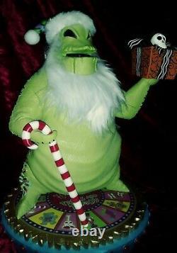 DISNEY NIGHTMARE BEFORE CHRISTMAS OOGIE BOOGIE big figure NUTCRACKER figurine
