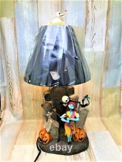 DISNEY Nightmare Before Christmas Jack Zero Sally Interior Table Lamp Figure