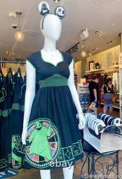 DISNEY PARKS OOGIE BOOGIEDress ShopNIGHTMARE BEFORE CHRISTMAS NWT DRESS SZ LG
