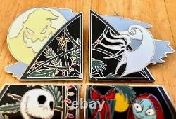 DISNEY PINS Advent Calendar 2019 NIGHTMARE BEFORE CHRISTMAS Puzzle Set of 6 NEW