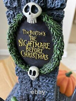 DISNEY STORE NIGHTMARE BEFORE CHRISTMAS LIGHT UP JACK Big Fig STATUE