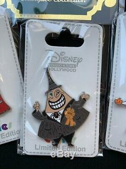 DSF DSSH Disney Nightmare Before Christmas Cutie Pins & Marquee Jack NBC Zero