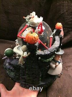 Disney Auction Nightmare Before Christmas Santa Jack snowglobe Very RARE LTD ED