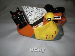Disney Auctions Nightmare Before Christmas Santa Jack Skellington Cookie Jar New