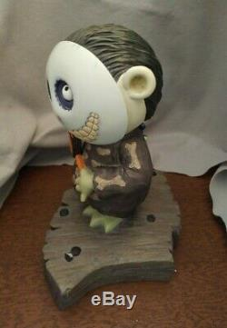 Disney BIG FIG Nightmare Before Christmas Barrel with C. O. A. Illuminated