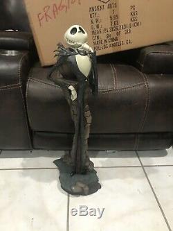 Disney BIG FIG Nightmare Before Christmas Jack Skellington Figure New In Box