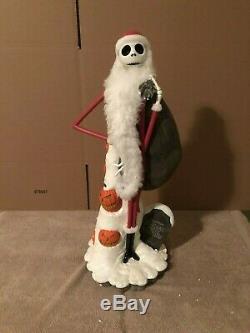 Disney Big Fig Figure Statue Nightmare Before Christmas Santa Jack Skellington