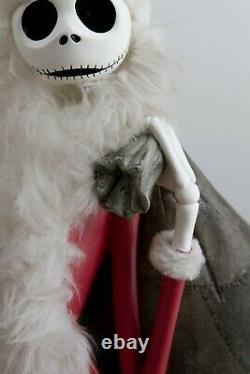 Disney Big Figure Statue Nightmare Before Christmas Santa Jack Skellington