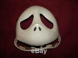 Disney Collectible LE Jack Skellington Porcelain Mask Nightmare Before Christmas