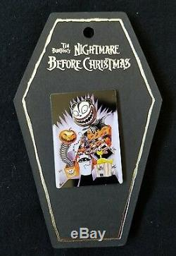 Disney DLR Haunted Mansion Nightmare Before Christmas Pin Stretching Portraits