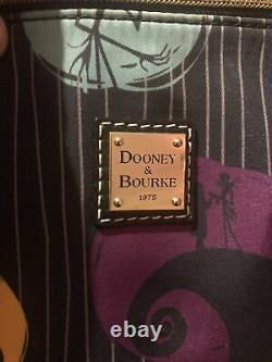 Disney Dooney & Bourke Nightmare Before Christmas Jack Sally shopper Tote Bag