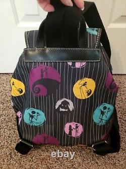 Disney Dooney & Bourke Nightmare Before Christmas backpack book bag purse tote
