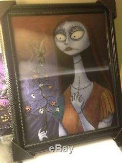 Disney HMH The Nightmare Before Christmas Sally Lenticular Framed 16x20 Huge New