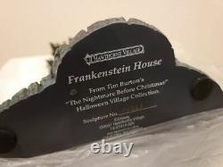 Disney Hawthorne Village The Nightmare Before Christmas Frankenstein House New