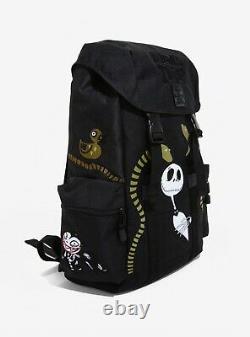 Disney Loungefly Nightmare Before Christmas Built Up Backpack Jack Skellington