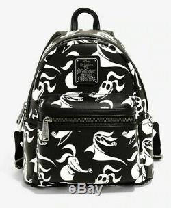 Disney Loungefly Nightmare Before Christmas Mini Backpack Bag NWT NEW Zero