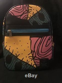 Disney Loungefly Nightmare Before Christmas Sally Patchwork Mini Backpack Bag