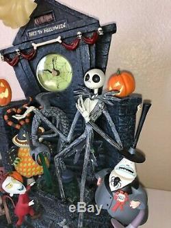 Disney NIGHTMARE BEFORE CHRISTMAS Mantle Clock