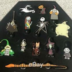 Disney Nightmare Before Christmas 25th Anniversary 25 Pins set Ltd. Tim Burton