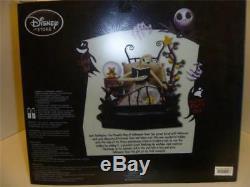 Disney Nightmare Before Christmas Bed Time Jack Figure/Globe