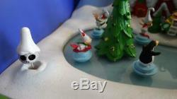 Disney Nightmare Before Christmas Christmastown Animated Music Box