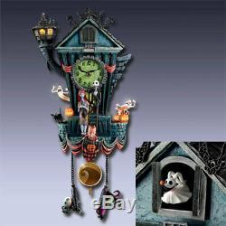 Disney Nightmare Before Christmas Cuckoo Clock Bradford Exchange