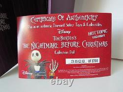Disney Nightmare Before Christmas Hot Topic Exclusive Limited Edition Jack Doll