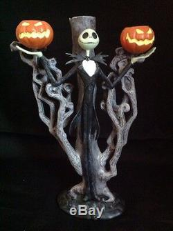 Disney Nightmare Before Christmas Iron Candelabra Candlestick Holder With Candle S