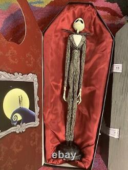 Disney Nightmare Before Christmas Jack Doll Limited Edition 2,000