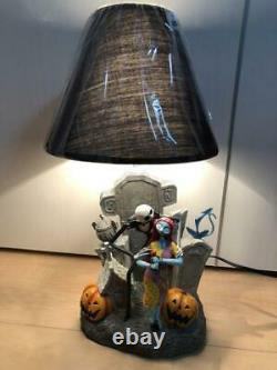 Disney Nightmare Before Christmas Jack Interior Table Lamp Light Up Statue NEW