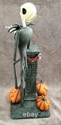 Disney Nightmare Before Christmas Jack Skellington Large Light-up Statue Figure