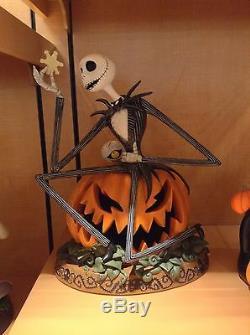 Disney Nightmare Before Christmas Jack Skellington Pumpkin Halloween Big FIgure