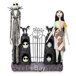 Disney Nightmare Before Christmas Jack Skellington & Sally Limited Edition Dolls