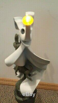 Disney Nightmare Before Christmas Large Zero Big Figure Light Up NEW in BOX COA