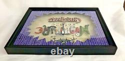 Disney Nightmare Before Christmas Letter Plaque Shadowbox Framed Dave Avanzino