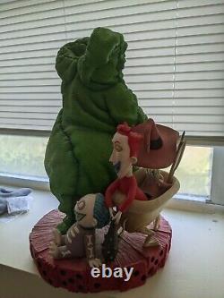 Disney Nightmare Before Christmas Oogie Boogie Big Figure Statue 2003