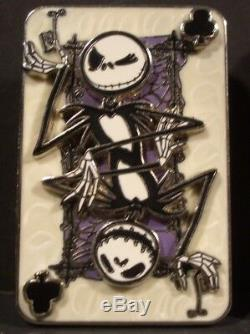 Disney Nightmare Before Christmas Playing Card LE Pins Mayor Sally Jack Zero
