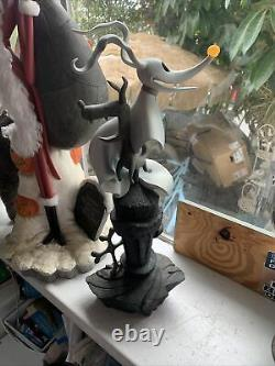 Disney Nightmare Before Christmas Rare Zero Statue At Tombstone