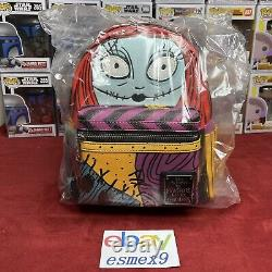 Disney Nightmare Before Christmas Sally Cosplay Loungefly Mini Backpack IN HAND